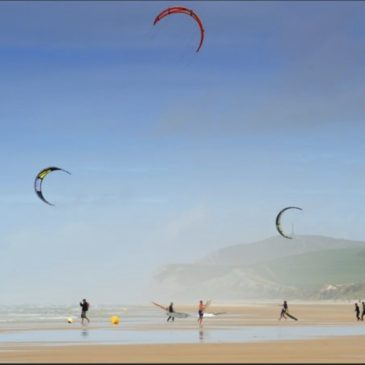 Kite surf sur Wissant