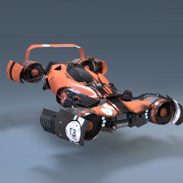 """le """"Jet-Racer"""""""